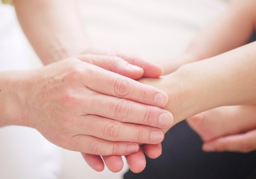 reiki therapy - hands